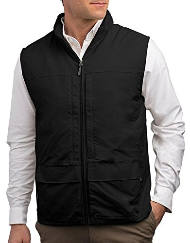 SCOTTeVEST Men's Q.U.E.S.T. Vest - 42 Pockets – Photography, Travel Vest BLK XLT by SCOTTeVEST (Image #7)