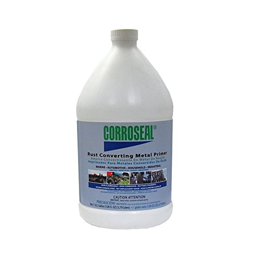 - Corroseal Water-Based Rust Converter Metal Primer, Gallon, 82331