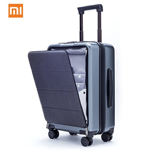 Xiaomi Carry On Luggage 20' Front Pocket Spinner Business Double TSA Locks No Key Cabin Size Premium PC 90FUN