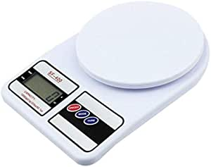 ميزان مطبخ رقمي مع بطاريات دقيق جدًا يمكنه وزن من 1 جرام الى 5 كجم