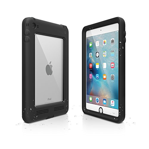 Catalyst Premium Quality Waterproof Shockproof Case for Apple iPad Mini 4 (Stealth Black) with High Touch Sensitivity ID and Multi Position Stand by Catalyst