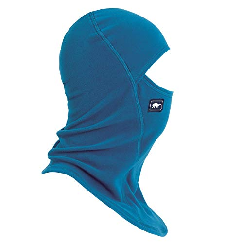 Turtle Fur Micro Fur Fleece Ninja Single-Layer Performance Balaclava, Blues for Breakfast (Turtle Fur Frost Mask)