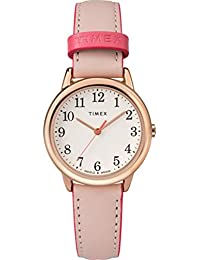Women's Easy Reader Color Pop 30mm Leather |Pink| Casual Watch TW2R62800