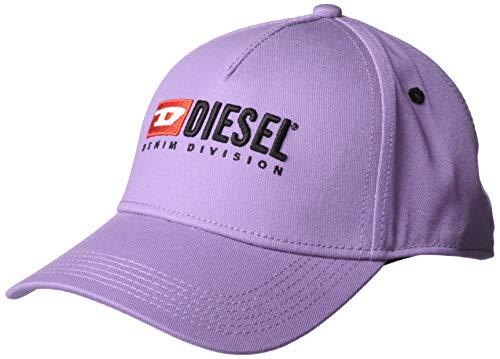 Diesel - Cappello da Baseball in Twill di Cotone Lilla  Amazon.it   Abbigliamento 0cdf83477548