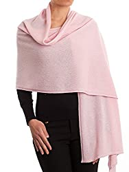 Dalle Piane Cashmere Stole 100 Cashmere Made In Italy Color Pink One Size