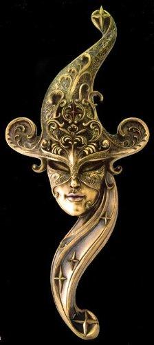 Large Venice Carnival Mask Venetian Masquerade - Wall Decor Magnificent !!