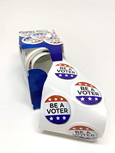 - Be a Voter! Political Stickers on a roll! Perfect for Writing Postcards to Your reps or get Out The Vote