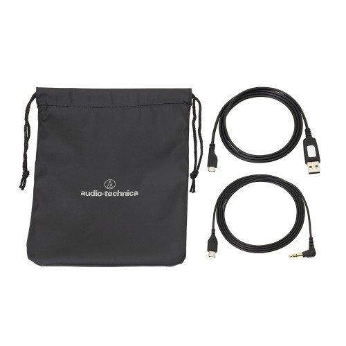 Audio-Technica ATH-ANC40BT QuietPoint Banda para Cuello Binaurale Alámbrico Negro: Amazon.es: Electrónica