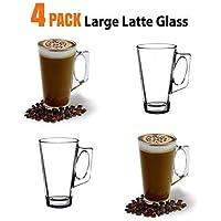 ANSIO® tazas de cristal tazas - 385 ml