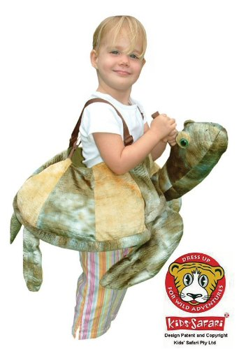 [Safari Plush Costume Sea Turtle- One Size] (Plush Turtle Kids Costumes)