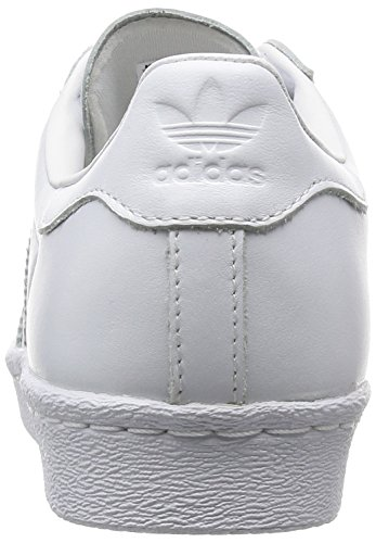 Superstar Mode Femme Baskets Blanc Toe Metal 80's Adidas SY6dqpS