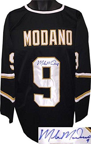 Mike Modano Autographed Jersey – Black TB Custom Stitched Pro #9 XL Hologram – JSA Certified – Autographed NHL Jerseys