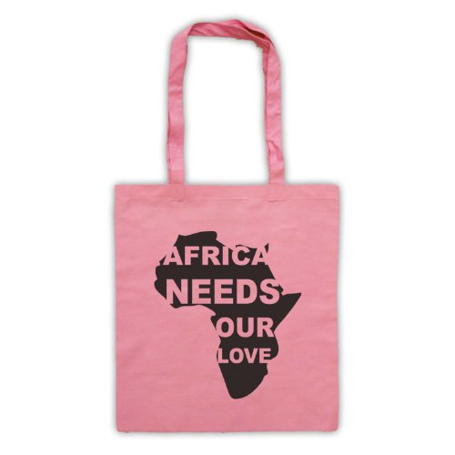 Protest Africa Our Needs Tote Love Pink Slogan Bag 6rtUr