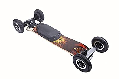 Ninestep 40 km/h Double Motor 2000W mountainboard Electric Skateboard LG 11Ah Battery Wireless 2.4Ghz Remote from Ninestep