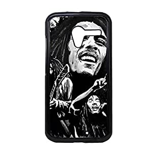 Generic Durable Soft Plastic Back Phone Covers For Teens Custom Design With Bob Marley For Moto X Choose Design 2