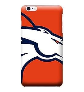 iPhone 6 Plus Case, NFL - Denver Broncos Large Logo - iPhone 6 Plus Case - High Quality PC Case