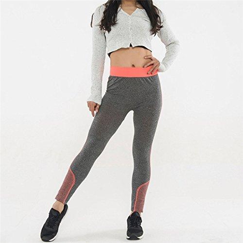 Xuanytp Yogahosen Slim Fit Leggings Hosen Hose Beschnittene Hose Hohe Taille Stretch-Hose