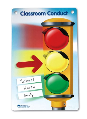 Learning Resources Magnetic Classroom Conduct Stoplight Chart by Learning Resources