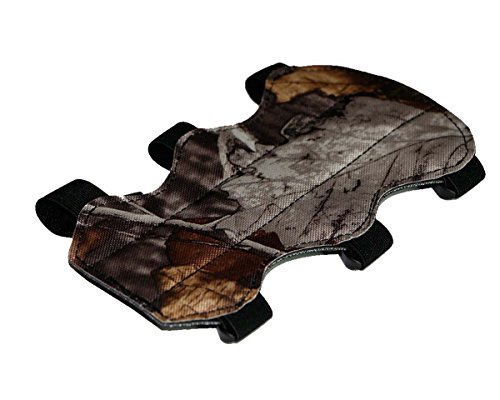 Best-selling Forest Camouflage Light Weight Archery Modeled 3-Strap Arm Guard Arm Protective Gear 2 Sides (Three Modeled Light)