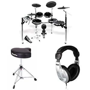 Alesis DM10 X Kit Bundle with Drum Throne and Headphones