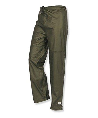 Helly Hansen Workwear Impertech II Waist Fishing and Rain Pant, Green Brown, M