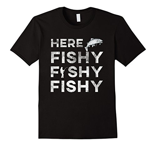 Funny-Fisherman-Gift-Here-Fishy-Fishy-Fishy-Trout-T-Shirt