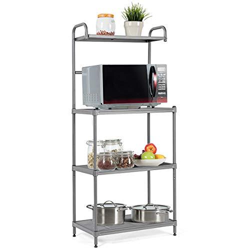 Giantex 4-Tier Kitchen Microwave