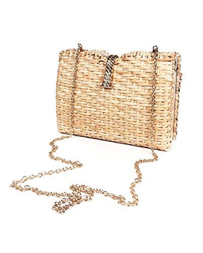 raphia 304 Zara 1680 bandoulière Femme Sac en rigide qw1USw0