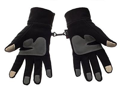 Metog Winter men and women outdoor sports warm fleece gloves touch gloves