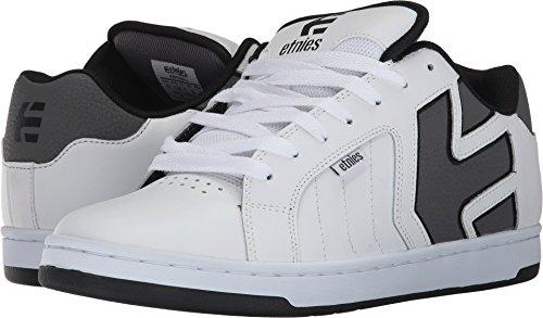 Etnies Men's Fader 2 Skate Shoe, White/Grey/Black, 9 Medium US Coco Footwear
