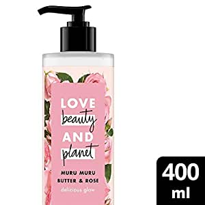 Love Beauty And Planet Body Lotion Murmuru Butter & Rose 400 mL