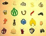 Miniature Vintage Cracker Jack Charm toys assortment