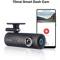 70mai Smart Dash Cam with Built-in Wifi, Featuring Voice...