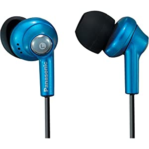 Panasonic RP-HJE270-A In-Ear Earbud Ergo-Fit Design Headphone (Blue) (Discontinued by Manufacturer)