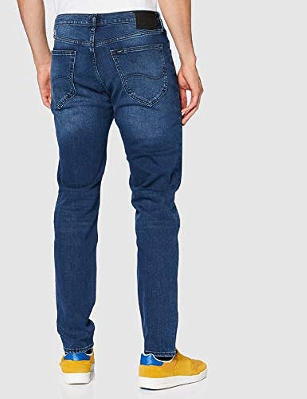 Lee Męskie dżinsy Austin - spodnie 32-34: Odzież