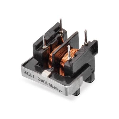 Common Mode Chokes/Filters WE-TFCH Type UT 8.2mH 1.3Ohm .5AHztl - Pack of 10 (744861082)