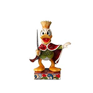 Disney Traditions by Jim Shore 4016561 Personality Pose Nutcracker, Donald Dressed as the Rat King Figurine, 4-3/4-Inch