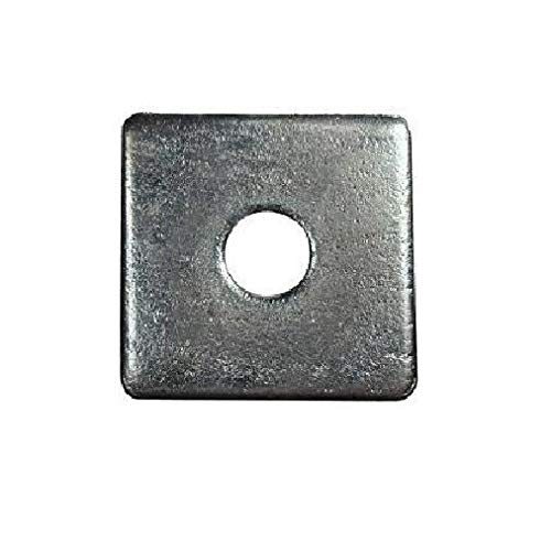 Stainless Steel 5/8-Inch x 2-1/4-Inch x 2-1/4-Inch Square Washer (25 Count) by IM Vera
