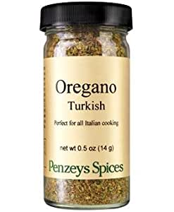 Turkish Broken Leaf Oregano By Penzeys Spices .5 oz 1/2 cup jar