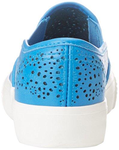 Slip-on In Bucco Perforato Di Idilliaco Blu Royal
