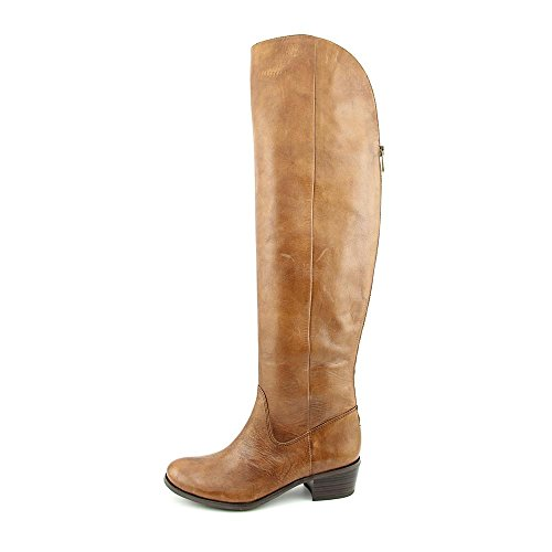 Knee Shoe Over Women's 6 The Beverley INC Boot Cognac Concepts International 5 XwqUnAS
