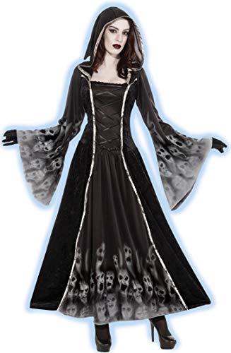 Forum Novelties Women's Forsaken Souls Costume, Black, ()