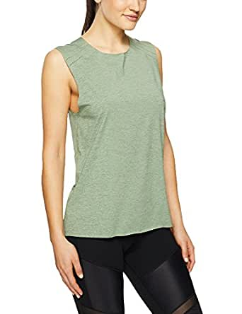 Lorna Jane Women's Activate Active Tank, Light Khaki Marl, XX-Small