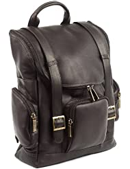 Claire Chase Portifino Computer Back Pack, Black, One Size