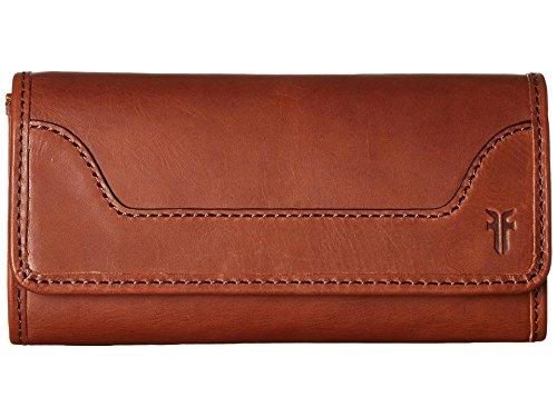 Frye Women's Melissa Zip Wallet Medium Brown One Size by FRYE