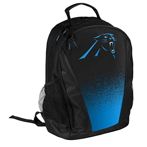 FOCO NFL Carolina Panthers Logo Gradient Print Primetime Deluxe Backpack, Team Color, Standard by FOCO