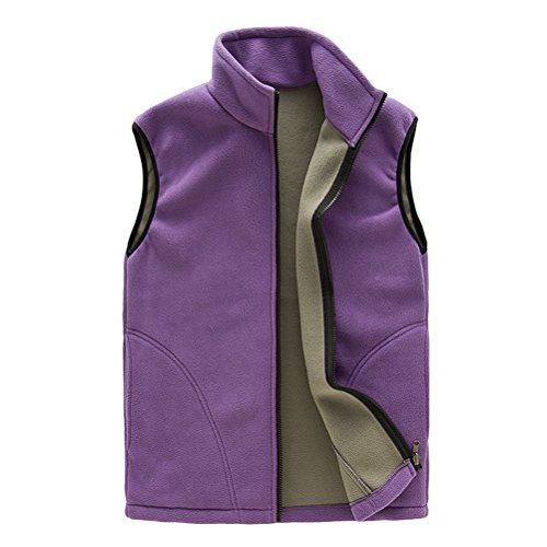 Al Libre Unisex Womens Aire Mens Zipper Warmer Womens Body Fleece Breathable Purple Outwear Shell Sports Gilet Soft Vest Zhhlinyuan qwIxRH