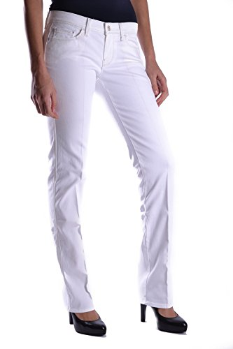 Algodon Mankind Ezbc110023 All Mujer Blanco Jeans For 7 TRqExwYT