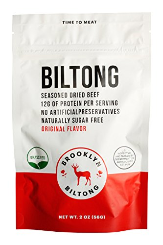 Brooklyn Biltong - Grass Fed Dried Beef 16oz