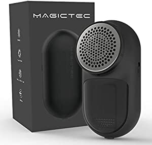 Magictec Rechargeable Fabric Shaver, Lint Remover Sweater Defuzzer Lints Fuzzs Pills Pilling Trimmer for Clothes and Furniture -Battery Operated